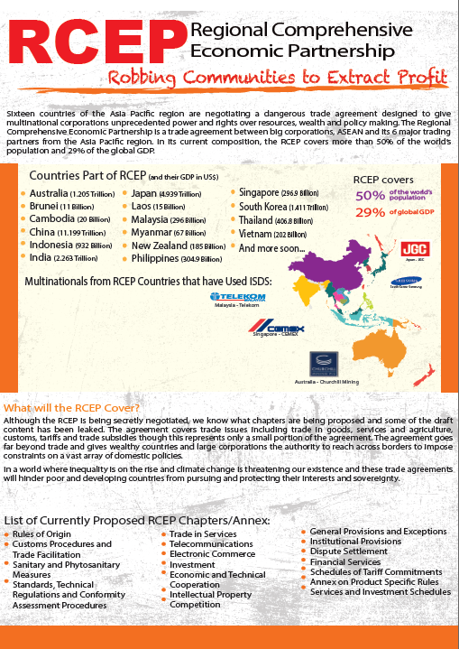 Updated Regional Comprehensive Economic Partnership Briefer – Asia