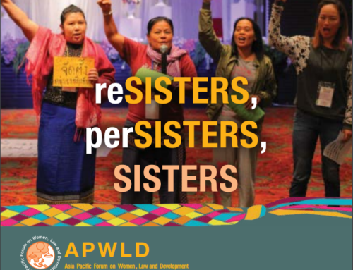 APWLD's Annual Report 2017: Resisters, Persisters, Sisters