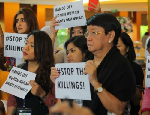 Sign on Statement: Solidarity with WHRD Cristina Palabay in Philippines