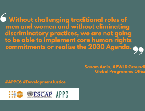 APWLD Statement on the Midterm Review of the Asian and Pacific Declaration on Population and Development
