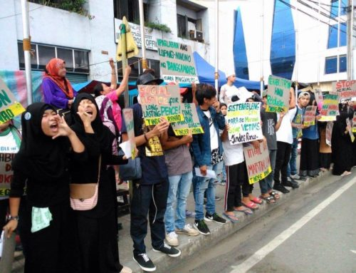 Letter Urging The Philippines Government To Be Held Accountable For Human Rights Violations