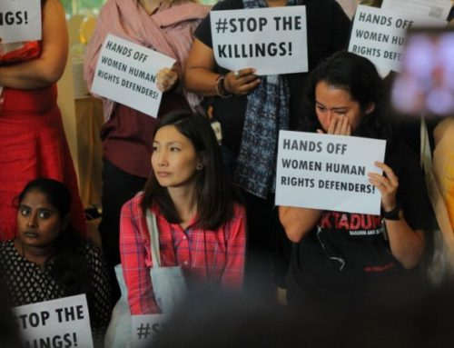 Letter of Support for the Philippines Human Rights Defenders Bill