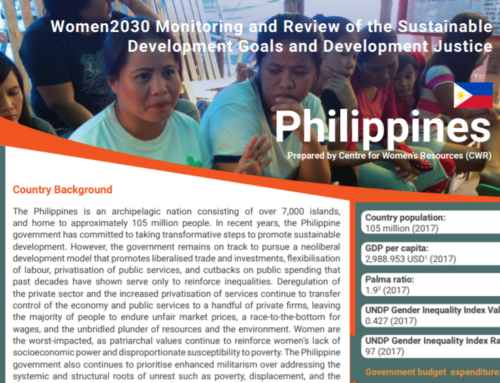 New Publications: 2019 Feminist Development Justice Policy Briefs