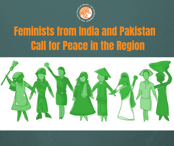 Statement: Feminists from India and Pakistan Call for Peace