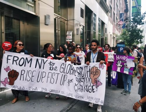 Press Release: Peoples' Movement Gather in New York to Demand Development Justice