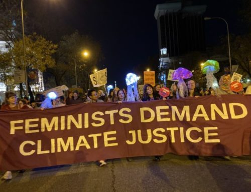Press Release: Feminists at COP 25 Climate March Call for Climate and Gender Justice