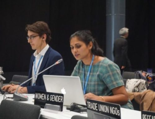 APWLD Delivers Intervention on Behalf of Women and Gender Constituency at COP 25