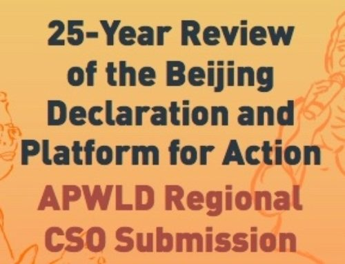 New Publication: 25-Year Review of the Beijing Declaration and Platform for Action APWLD Regional CSO Submission