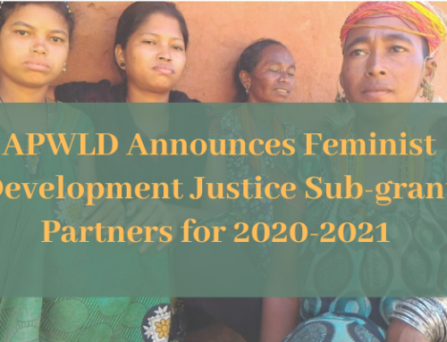 Know Our Feminist Development Justice Sub-grant Partners For 2020-2021
