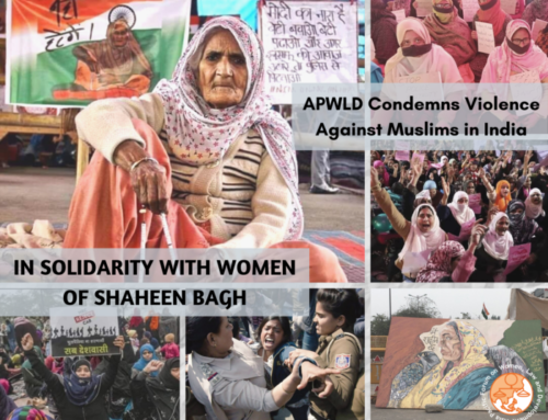 Letter: APWLD Condemns Violence Against Muslims in India and Expresses Solidarity With Women of Shaheen Bagh