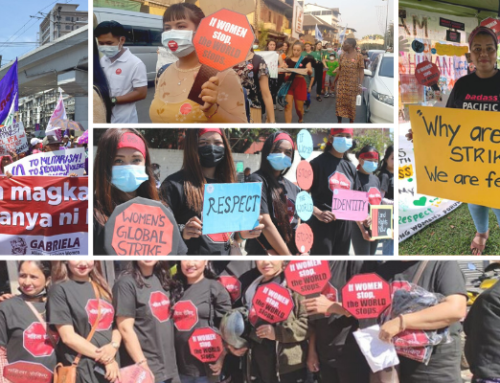 Press Release: Over 200,000 Women in Asia and the Pacific Join Women's Global Strike