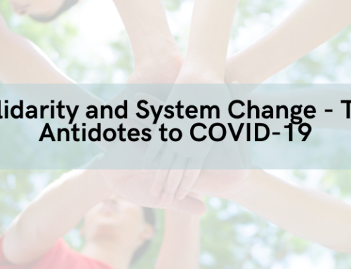 Statement: Solidarity and System Change – The Antidotes to COVID-19