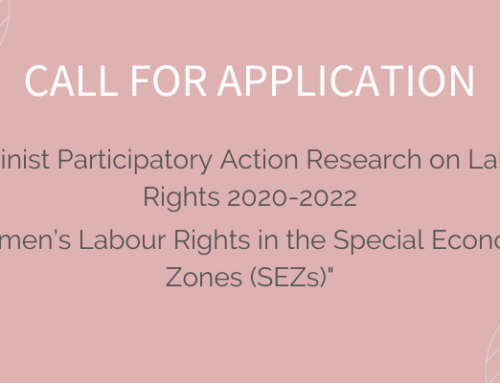 "Feminist Participatory Action Research on Labour Rights 2020-2022: ""Women's Labour Rights in the Special Economic Zones (SEZs)"""
