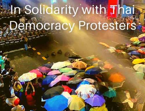 Sign-on Statement: In Solidarity with Thai Democracy Protesters