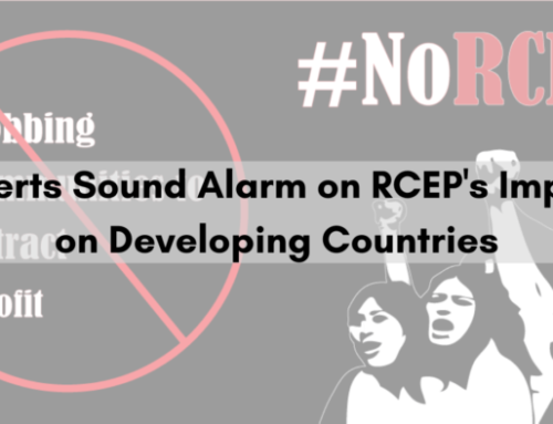 Press Release: Experts Sound Alarm on RCEP's Impact on Developing Countries