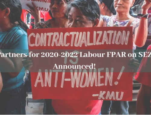 Partners for 2020-2022 Labour Feminist Participatory Action Research on Special Economic Zones Announced!