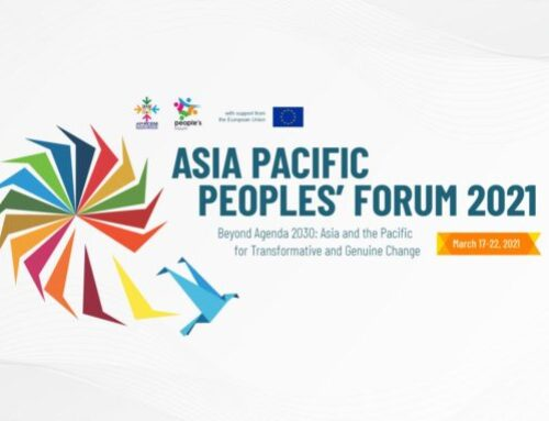 Asia Pacific Peoples' Forum 2021: Beyond Agenda 2030: Asia and the Pacific for Transformative and Genuine Change