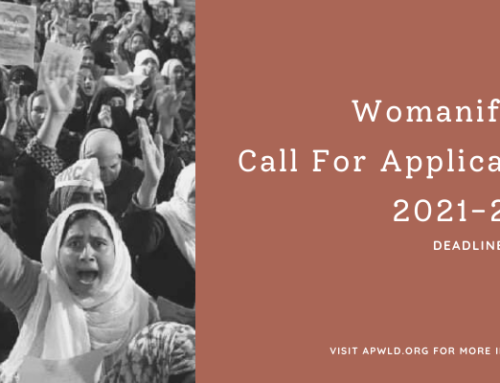 Call For Application: Womanifesto 2021-2023