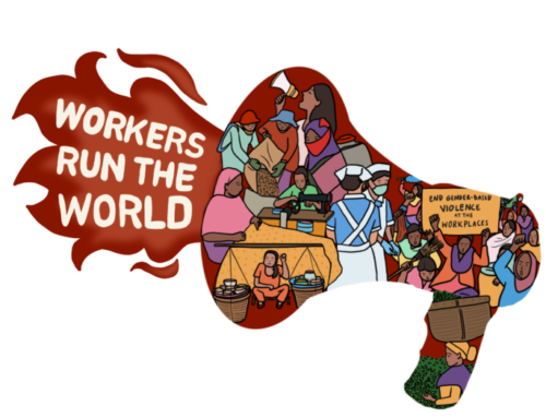 Solidarity Protest: Workers Run The World